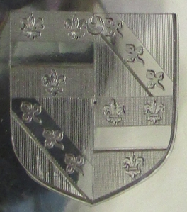 Shield armorial for Oliver Welby - underside of the London Loving Cup