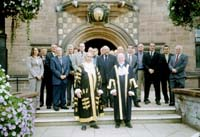 2003_09_The Lord Mayor and the Master with the New Freemen of the City of Coventry