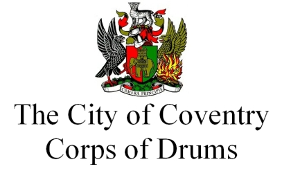 City of Coventry Corps of Drums (text badge)