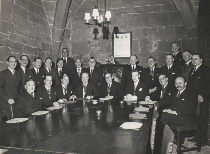 1965-66 Guikl Court with Norman Davies as the Master